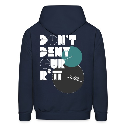 U-Kiss - Don't deny our r squared pi - Men's Hoodie