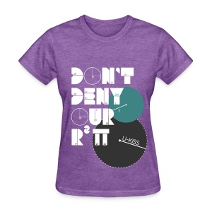 U-Kiss - Don't deny our r squared pi - Women's T-Shirt
