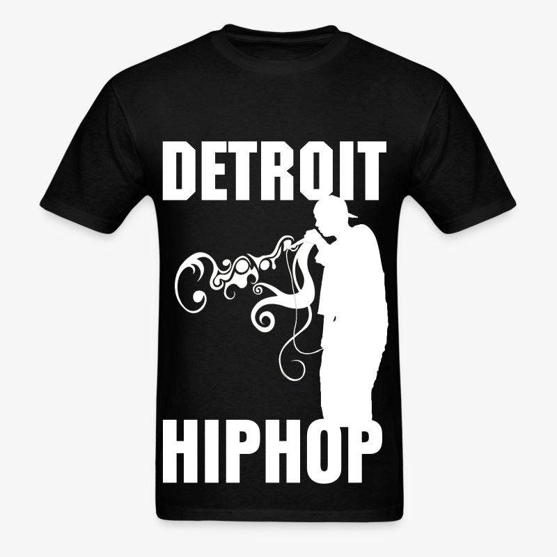 DETROIT HIPHOP - Men's T-Shirt