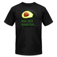 T-Shirts ~ Men's T-Shirt by American Apparel ~ wanna piece of avocado?