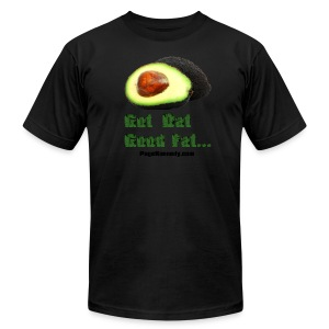 wanna piece of avocado? - Men's T-Shirt by American Apparel