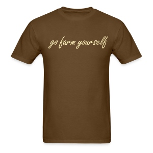 go farm yourself™ - Classic shirt - Men's T-Shirt