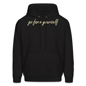 go farm yourself™ - Mens Hoodie Two Shoes - Men's Hoodie