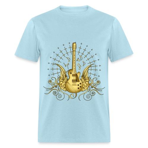 Golden Guitar - Men's T-Shirt