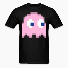 Pinky Pacman Ghost Easy Costume 1 of 4 T-Shirts