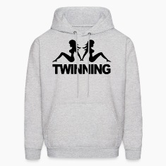 """Twinning"" Jersey Shore Hoodies - stayflyclothing.com"
