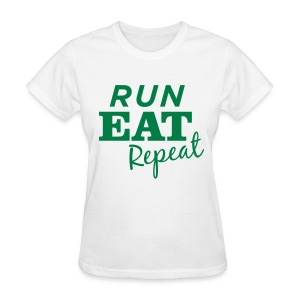 RER t-shirt green logo - Women's T-Shirt