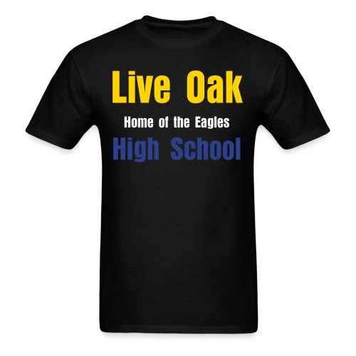 Live Oak High School - Men's T-Shirt