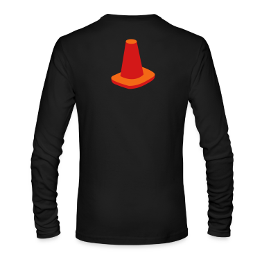 witches hat traffic cone road marker Long Sleeve Shirts