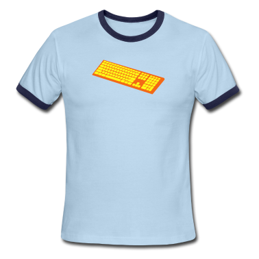 a simple keyboard T-Shirts