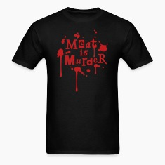 Meat is Murder! - vector T-Shirts