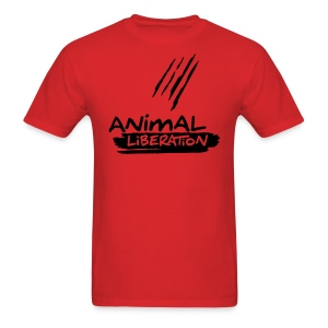 Animal Liberation - vector - Men's T-Shirt