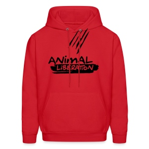 Animal Liberation - vector - Men's Hoodie