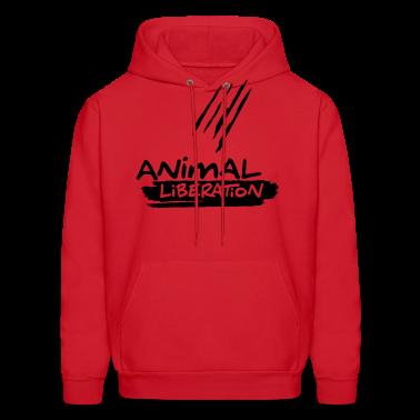 Animal Liberation  - vector Hoodies
