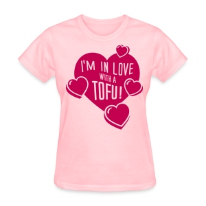 I'M IN LOVE WITH A TOFU! - vector - Women's T-Shirt