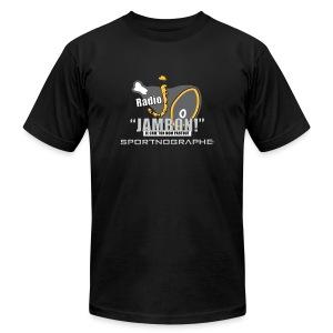 Radio J : La radio des Jambons - T-shirt pour hommes