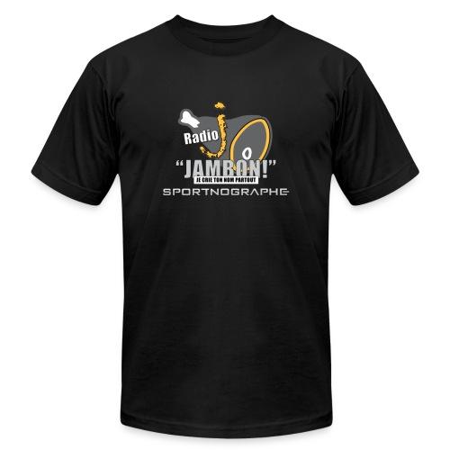 Radio J : La radio des Jambons - Men's Fine Jersey T-Shirt