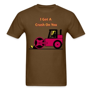 I Got A Crush On You - Steam Roller Girl - Men's T-Shirt - Men's T-Shirt
