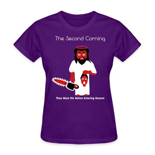 The Second Coming - Jesus Manson Chainsaw Maniac - Women's T-Shirt - Women's T-Shirt
