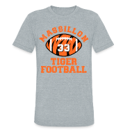 T-Shirts ~ Unisex Tri-Blend T-Shirt by American Apparel ~ SPIELMAN - MASSILLON THROWBACK