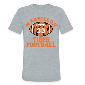 SPIELMAN - MASSILLON THROWBACK - Unisex Tri-Blend T-Shirt