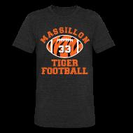 T-Shirts ~ Unisex Tri-Blend T-Shirt ~ SPIELMAN - MASSILLON THROWBACK