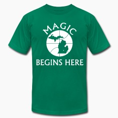 MAGIC BEGINS HERE GREEN