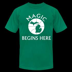 MAGIC BEGINS HERE GREEN ~ 316