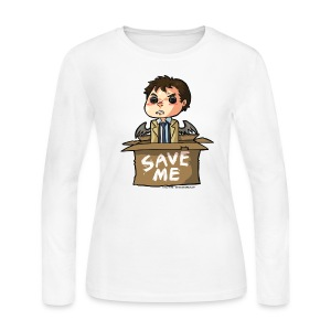 Save Me (DESIGN BY KARINA) - Women's Long Sleeve Jersey T-Shirt