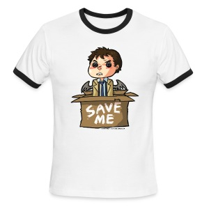 Save Me (DESIGN BY KARINA) - Men's Ringer T-Shirt