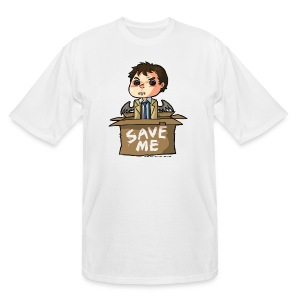 Save Me (DESIGN BY KARINA) - Men's Tall T-Shirt