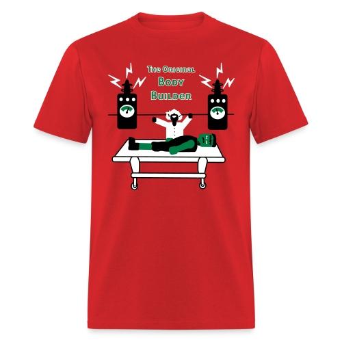 Dr. Frankenstein - The Original Body Builder - Men's T-Shirt - Men's T-Shirt