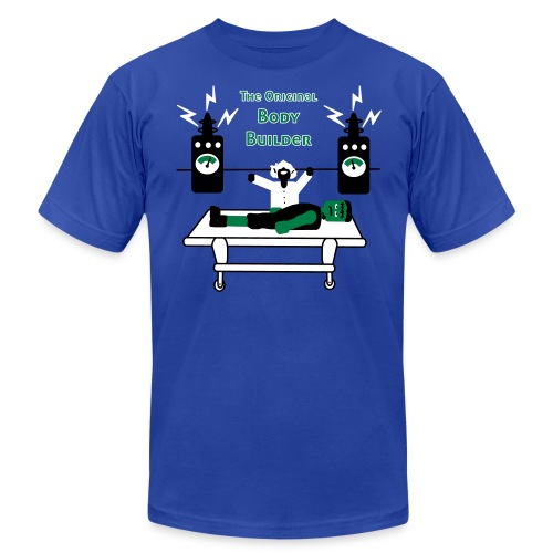 Dr. Frankenstein - The Original Body Builder - Men's T-Shirt - Men's  Jersey T-Shirt