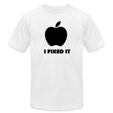 Apple i fixed it Parodie T-Shirts