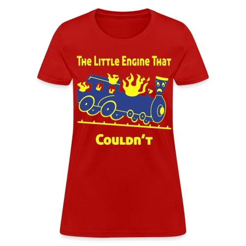 The Little Engine That Couldn't Women's T-Shirt - Women's T-Shirt
