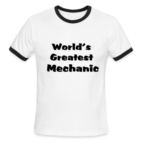 Greatest Soccer coach - Men's Ringer T-Shirt