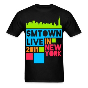 [KOR] SMTown Live New York 2011 (English Back) - Men's T-Shirt
