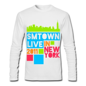 [KOR] SMTown Live New York 2011 (English Back) - Men's Long Sleeve T-Shirt by Next Level
