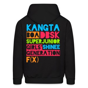 [KOR] SMTown Live New York 2011 (English Back) - Men's Hoodie
