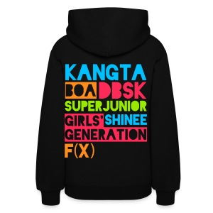 [KOR] SMTown Live New York 2011 (English Back) - Women's Hoodie