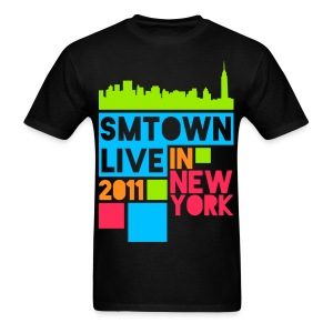 [KOR] SMTown Live New York 2011 (Front Only) - Men's T-Shirt