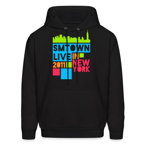 [KOR] SMTown Live New York 2011 (Front Only) - Men's Hoodie