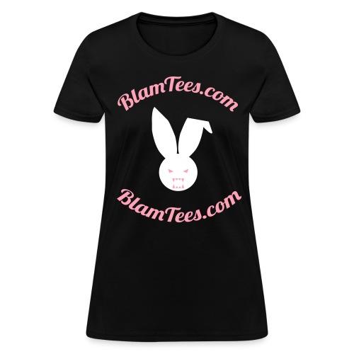 Blam Tees - Full Circle Logo Tee - Women's T-Shirt - Women's T-Shirt