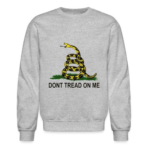 Don't Tread on Me Sweatshirt - Crewneck Sweatshirt