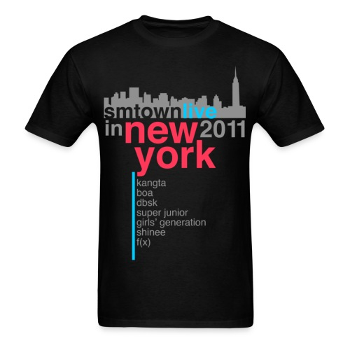 [KOR] SMTown Live in New York 2011 (V.2) - Men's T-Shirt
