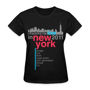 [KOR] SMTown Live in New York 2011 (V.2) - Women's T-Shirt