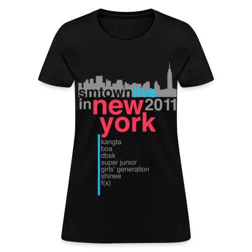 [KOR] SMTown Live in New York 2011 (V.2) - Women's T-Shirt