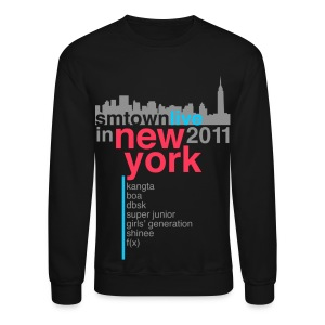 [KOR] SMTown Live in New York 2011 (V.2) - Crewneck Sweatshirt
