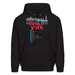 [KOR] SMTown Live in New York 2011 (V.2) - Men's Hoodie