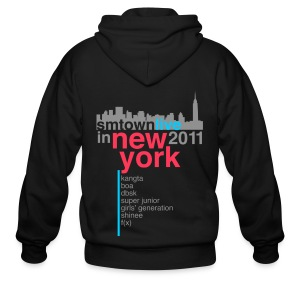 [KOR] SMTown Live in New York 2011 (V.2) - Men's Zip Hoodie